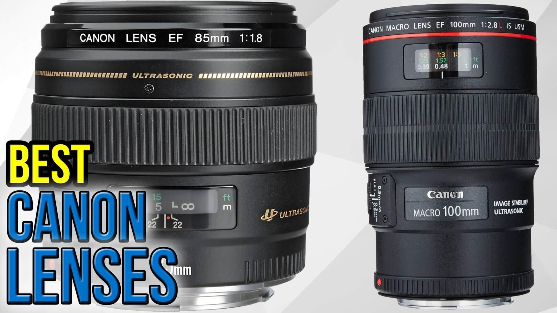 Best Canon Lens for Portraits and Wedding Photography
