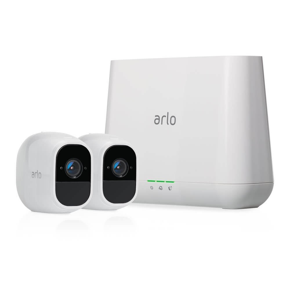 best wireless outdoor security camera system for home (Arlo Pro 2 by NETGEAR Home Security Camera)