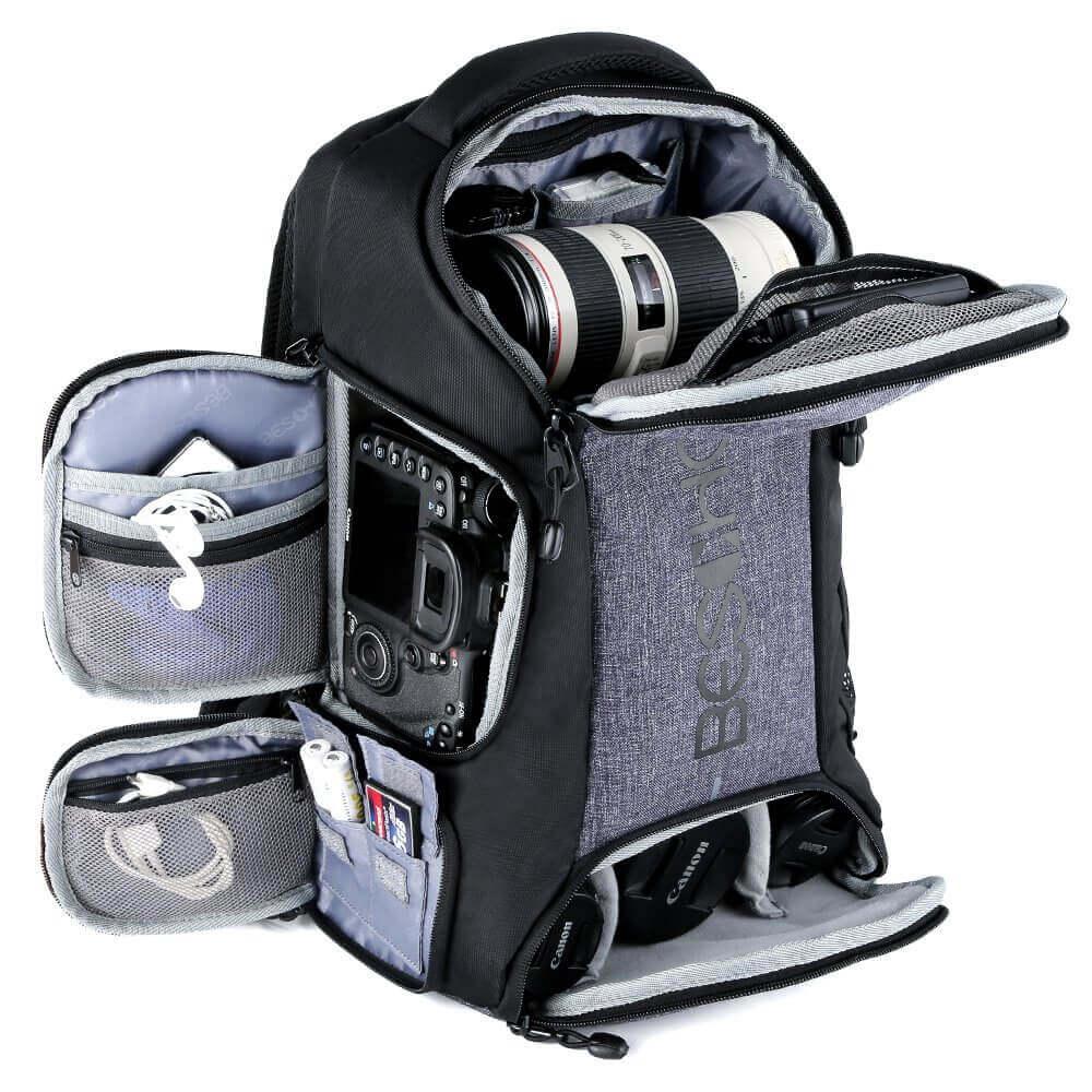Beschoi camera backpack