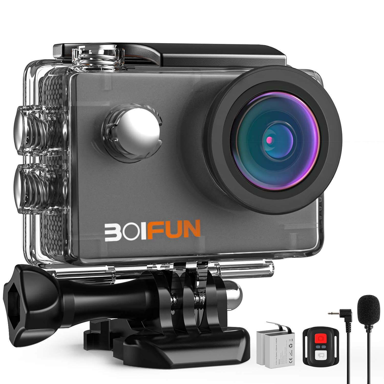 BOIFUN 4K Action Camera