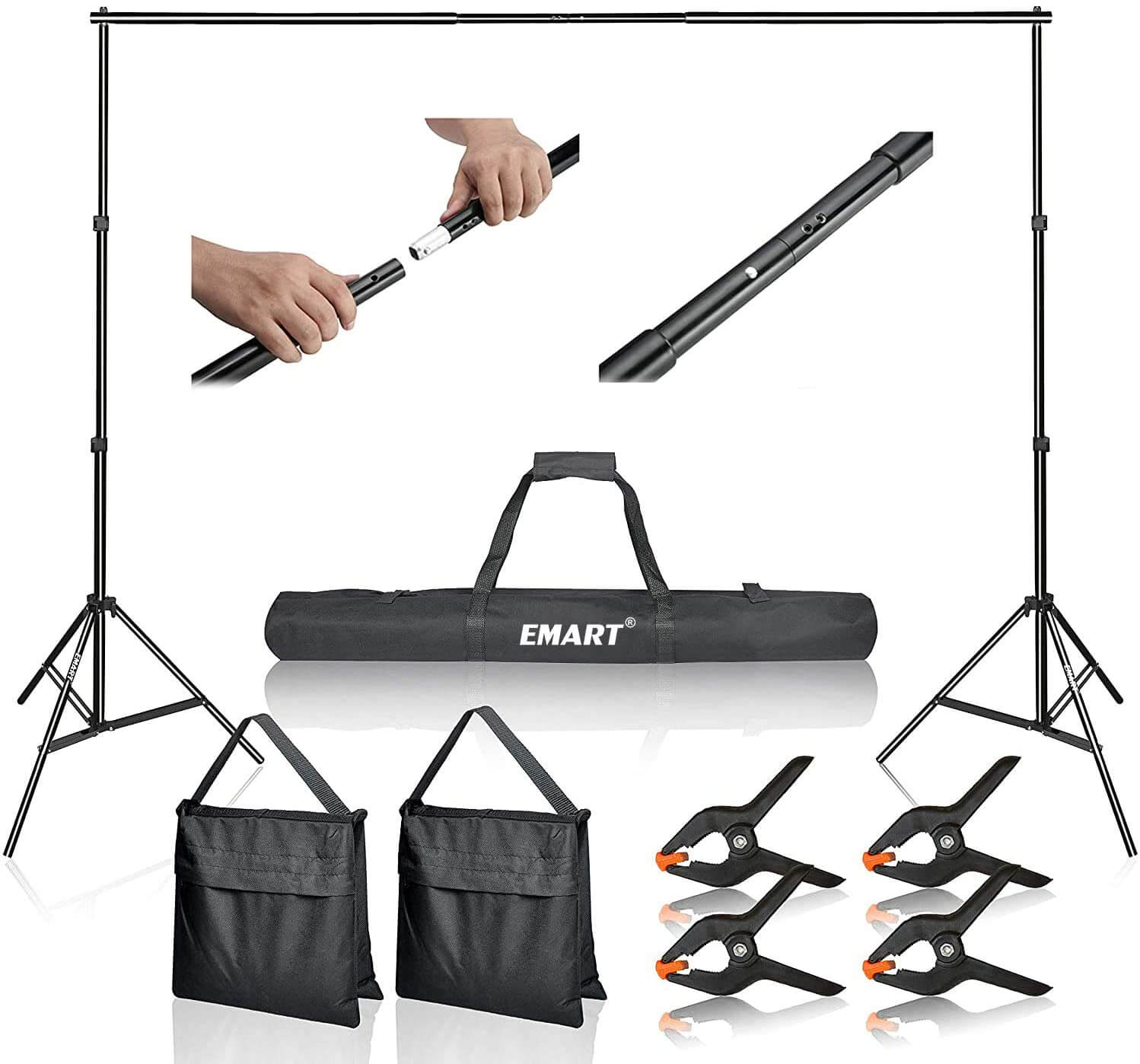 Emart 10 ft. Backdrop Stand