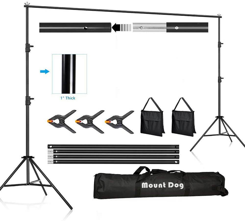 Mountdog 10x6.5 ft. Backdrop Stand