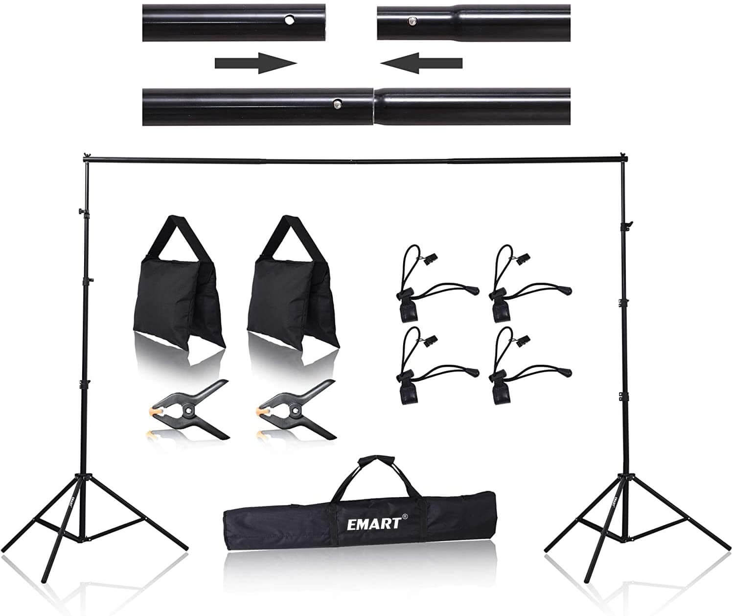 Emart 8.5 x 10 ft. Backdrop Stand